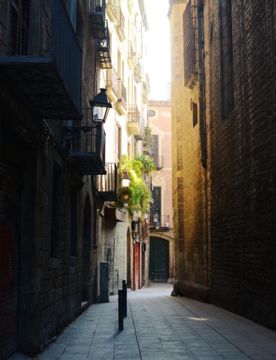Carrer d'Hèrcules, barcelona street, barrio gotico